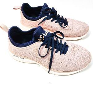 APL Techloom Phantom Running Shoes Pink & Blue 9